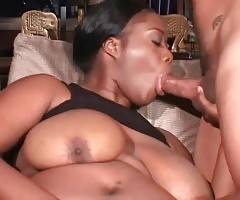 Cute Ebony Fattie Starves For Hard Dicks 1