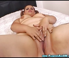 Plumper Victoria Secret rides Dirty Harry`s big cock until he shoots his load all over her gorgeous face!