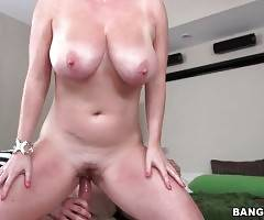Breasted Maggie Green Starves For Hard Cock 3