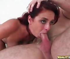Breasted Redhead Babe Loves To Get Fucked 2