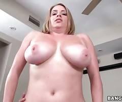 Horny Dude Bangs Slutty Blonde With Huge Jugs 1