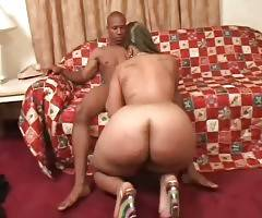 Cute Ebony Plumper Is Very Cock Hungry 1
